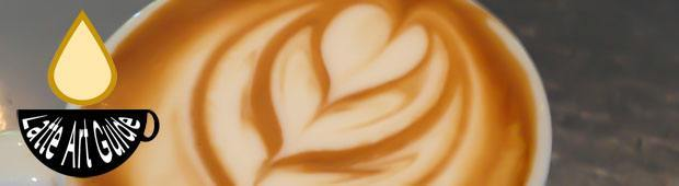 how is latte art made