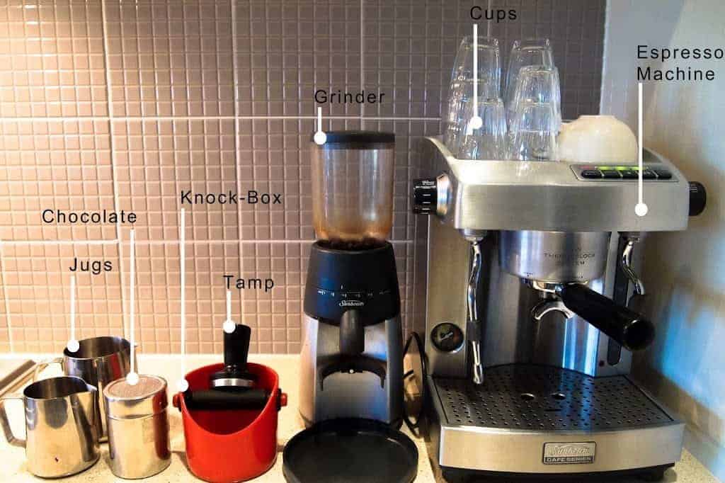 Latte Machine Equipment